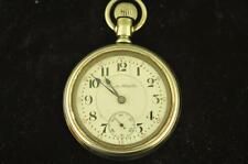 VINTAGE 18S HAMILTON 21J SWING OUT DISPLAY BACK POCKET WATCH GRADE 940 FROM 1906