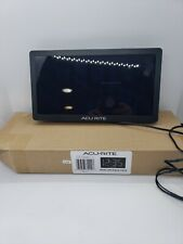 AcuRite 76102M White Led Digital Clock Time Huge Readout Numbers Used Condition