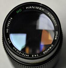 M 42 -HANIMEX AUTOMATIC MC ZOOM C-MACRO 4.5/70-210 mm