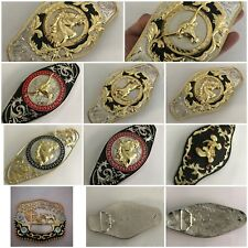 COWBOY & WESTREN BELT BUCKLES BULL HEAD HORSE  RODEO BIG SIZE BUCKLE