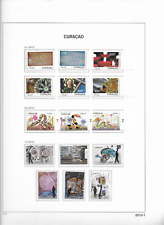 2013 USED Curaçao year collection (7 scans)