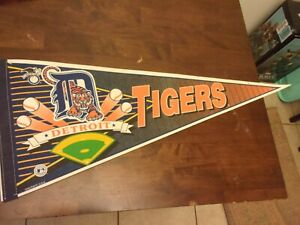 Detroit Tigers pre owned MLB Pennant WinCraft decorations