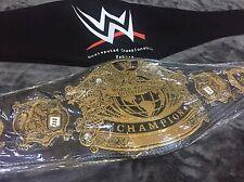 WWE UNDISPUTED CHAMPIONSHIP WRESTLING BELT WWE TITLE WWF WORLD WCW FREE GIFTS!!!