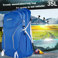35L Camping Travel Rucksack Trekking Outdoor Backpack Hiking Bag Daypacks Unisex