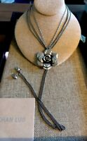 Chan Luu Lrg Flower Pendant Necklace Stunning