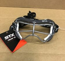 STX Focus-S  Womens Adult Lacrosse Goggles Brand New Grey & White
