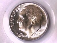 1946 D Roosevelt Dime PCGS MS 66 Omaha Bank Hoard 10231795