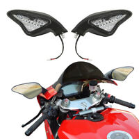 LED Light Rear View Side Mirror For Ducati 848 1098 1098S 1098R 1198 1198S 1198R