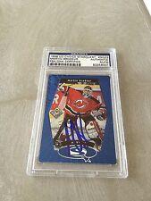 Martin Brodeur Signed 1998-99 UD Choice Devils Card PSA Slabbed #83356401
