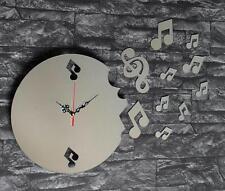 Analoge runde Wanduhren aus Kunststoff fürs Wohnzimmer