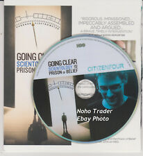 2 Documentario Emmy DVD Set Scientology Going Trasparente & Citizen Quarta