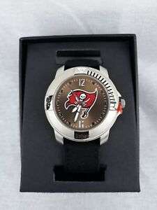 NFL Tampa Bay Buccaneers Silver Game Time Watch