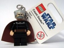 LEGO 852549 Star Wars Count Dooku with Cape Minifigure Key Chain from 2009 NEW