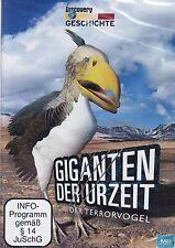 GIGANTEN der URZEIT + Der Terrorvogel Titanis + DVD Urzeitmonster Dokumentation