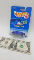 Hot Wheels Purple Metal Flake Paint Blue Card Mercedes  540K #164  - 1991