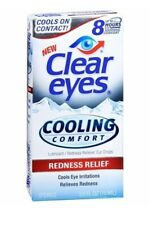 [3 Count] Clear Eyes Cooling Comfort Redness Relief Eye Drops,