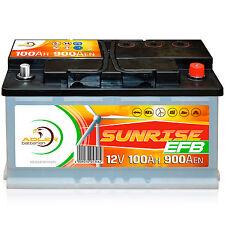 Verbraucherbatterie EFB 12 V 100 Ah 100 h Photovoltaik Boot Versorgungs Batterie