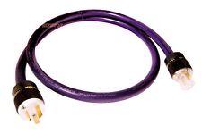 Furukawa PCOCC 5Ft Audio Power Cable Cord 1.5M with acrolink cryo AU plug 9AWG
