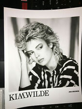 Kim Wilde original vintage press headshot photo