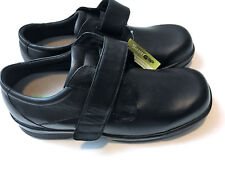 Apex Men's Biomechanical Single Strap Ambulator Shoes, Black, 11.5 MSRP $144.95