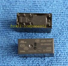 2pcs ORIGINAL JQX-115F-024-2ZS4 HF115F-024-2ZS4 24V 8A 250VAC Power Relays