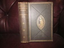 ANTIQUE 1898~C.H. SPURGEON~THE METROPOLITAN TABERNACLE PULPIT~PASS. & ALA.~NICE!