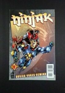 Vintage 1997 Acclaim Comics Valiant Heroes Ninjak Issue #6