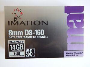 Imation D8 D-Eight Data 8mm Tape/Cartridge 7/14GB 160m D8-160 NEW