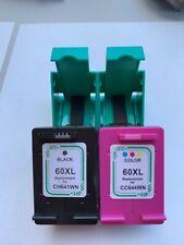 Combo Packs 60XL B & C Ink for HP PhotosmartC4798 Deskjet D2668