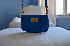 Marc Jacobs crossbody bag, blue, leather, brand new never been used