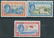 Mint Hinged Bahamian Colony Postage Stamps (Pre-1973)
