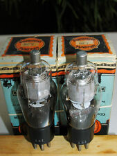 Concert Master 6F7 Vt70 Cv1915 double triode pentode Nib pair tubes