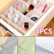 Adjustable Clapboard Drawer Divider Partition Grid Storage Organiser Separator