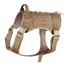 Dog Harness with Handle for Medium Dogs ,Tactical K9 Service Dog Vest ,