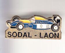 RARE PINS PIN'S .. F1 AUTO CAR RENAULT ELF CANON PROST SODAL LAON 02 ~B5