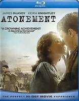 Atonement [Blu-ray], New DVD, James McAvoy, Keira Knightley, Saoirse Ronan, Romo