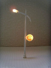 LD-20pcs Scale Train Layout Set Model Lampposts Lamps Posts HO