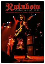 Rainbow **POSTER** Ritchie Blackmore Ronnie James Dio LIVE in MUNICH Deep Purple