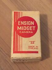 Ensign Midget #22 camera