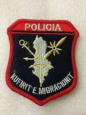 Original Albania Military Army Patch-badge  police of`emigration