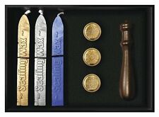 Spiritual Deluxe Sealing Wax Set 3 seals Wiccan Pagan Stationery