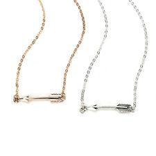 Arrow Statement Necklaces Collares Choker Necklace Chain Colar Maxi Necklace KI