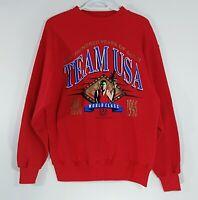 Hanes USA Atlanta Olympics 1996 Sweatshirt Large 100 Years Mens Vintage 90s
