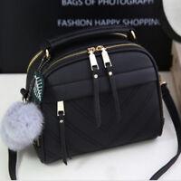 Female Lady Leather Handbag Shoulder Bags Tote Purse Messenger Satchel Bags NB