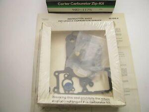 Carter 902-1175 Carburetor Rebuild Kit - Holley 6145
