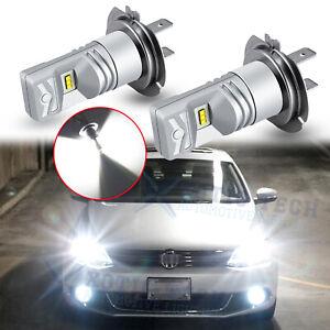 6000K White H7 LED High Beam Headlight For Volkswagen Jetta 2007-18 Passat 07-15