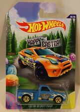 2015 Hot Wheels Happy Easter Custom '69 Chevy Pickup Truck Blue Walmart Quantity
