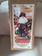 "GRANDEUR NOEL 2000 Santa Claus Collector's Edition, 16"" Fabric, In Box"