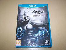 Batman Arkham City Gepanzerte Edition Nintendo Wii U ** Neu & Versiegelt **