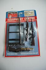 "ACTION MAN equipment centre carded 34272  ""RIFLE RACK "" MOC"